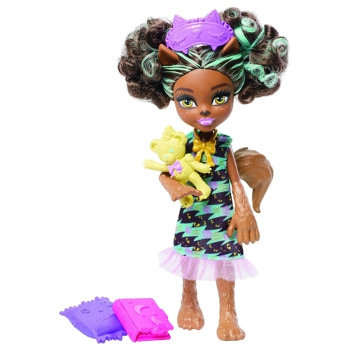 Кукла Monster High Мини-монстрики Пола Вульф, 14 см, FCV66
