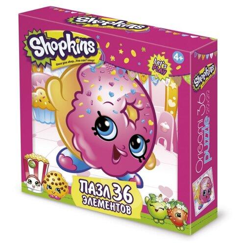 Купить Пазл Origami Shopkins D'lish Donut (02750), 36 дет., Пазлы