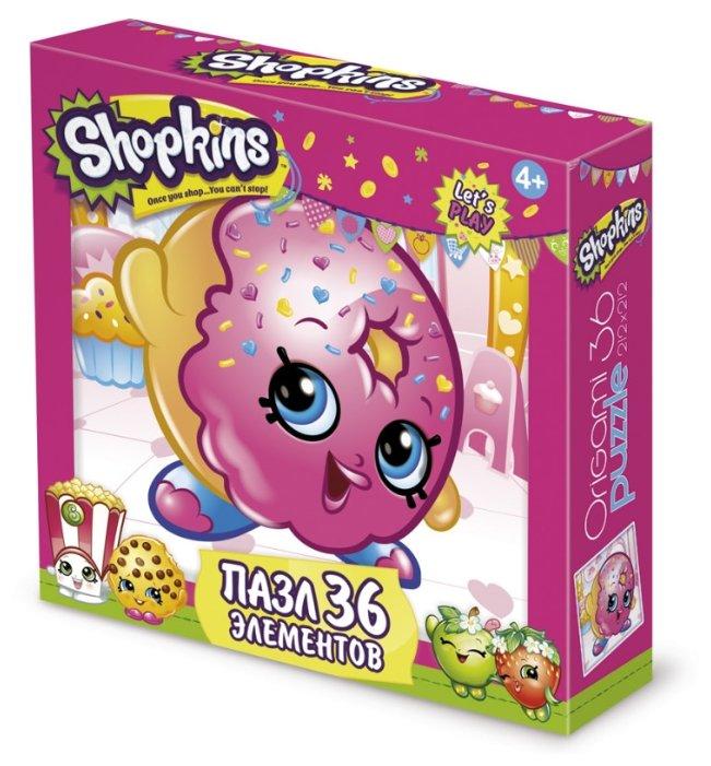Пазл Origami Shopkins D'lish Donut (02750), 36 дет.