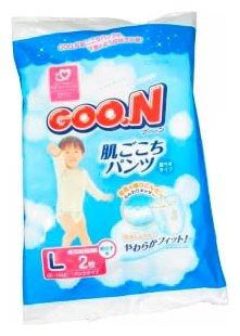 Goo.N трусики для мальчиков L (9-14 кг)