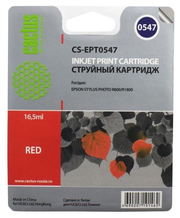 Картридж cactus CS-EPT0547