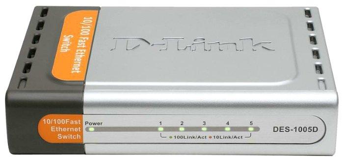 Коммутатор D-link DES-1005D/C