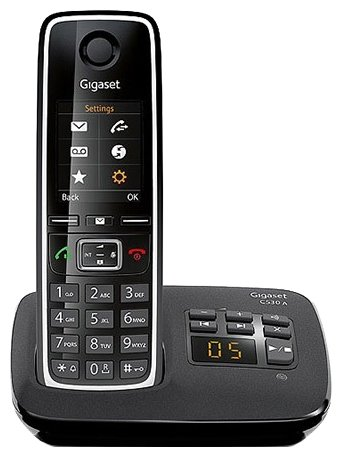 Радиотелефон Gigaset C530AM Black