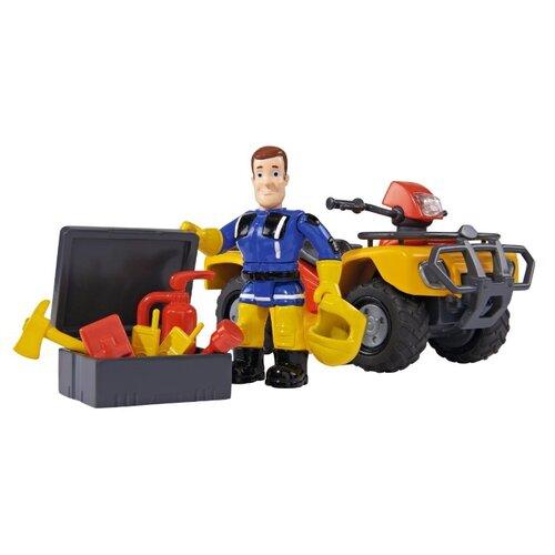 Купить Игровой набор Simba Fireman Sam - Квадроцикл Юпитер 9257657/9251058, Игровые наборы и фигурки