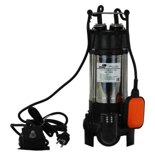 Фекальный насос WWQ NB-1100N (1100 Вт) насос фекальный wwq nf 400 0 4 квт 133 л мин