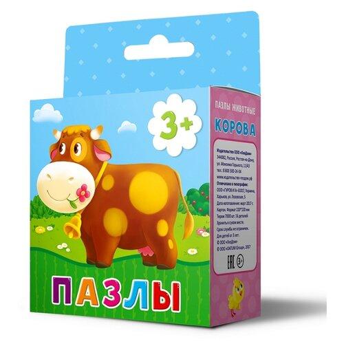 Купить Пазл ГеоДом Животные Корова (4607177454313), 16 дет., Пазлы