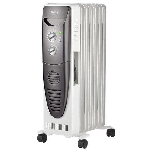 Масляный радиатор Ballu BOH/TB-07FH белый/черный