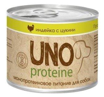 Корм для собак Vita PRO Uno Proteine Индейка с цукини в желе