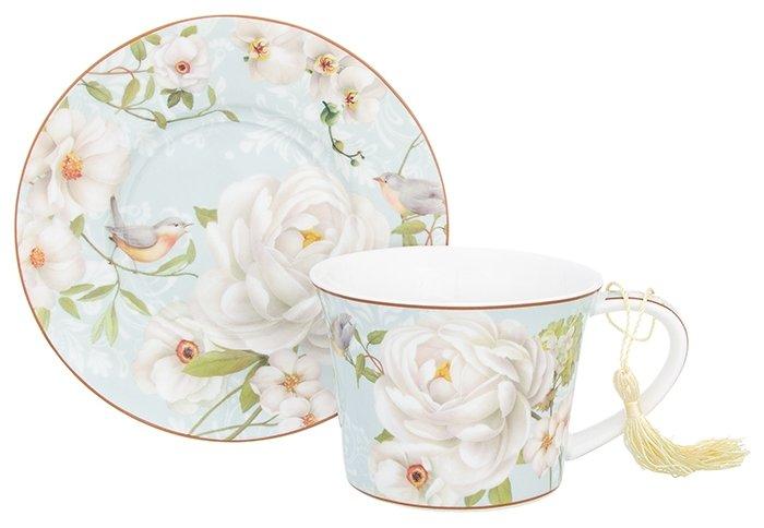 Elan gallery Чайная пара Дикая роза 420192