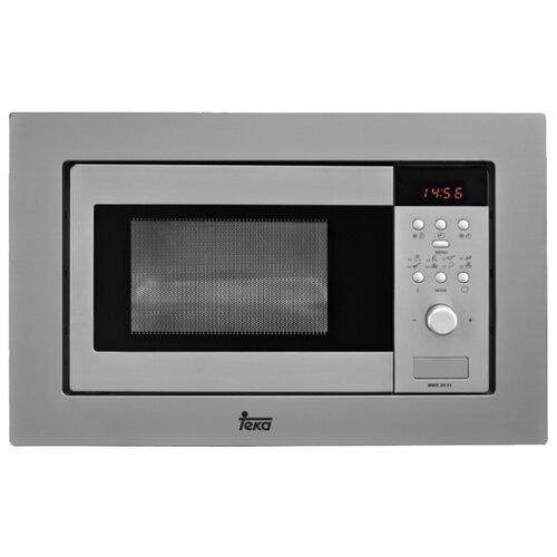 Микроволновая печь встраиваемая TEKA MWE 207 FI STAINLESS STEEL (40581117) микроволновая печь teka mwe 207 fi white