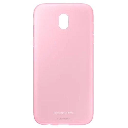 Чехол-накладка Samsung EF-AJ730 для Galaxy J7 (2017) розовый чехол накладка samsung ef aj730 для galaxy j7 2017 черный