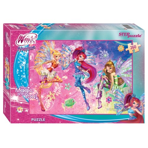 Купить Пазл Step puzzle Winx (95026), 260 дет., Пазлы