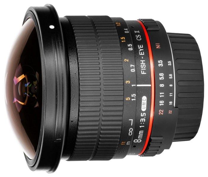 Samyang 8mm f/3.5 UMC Fish-eye CS II 4/3