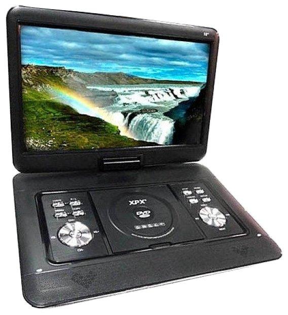 Портативный DVD плеер XPX EA-1669D с цифровым TV-тюнером DVB-T2 16