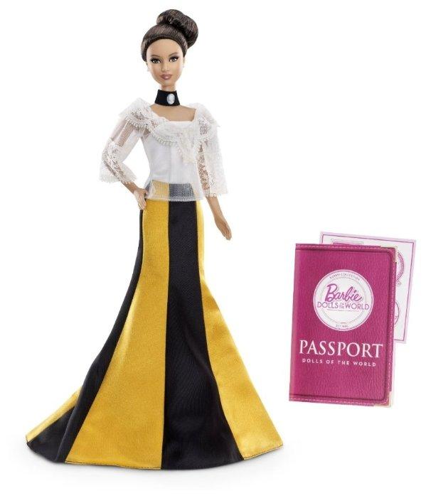 Кукла Barbie Филиппины, 29 см, X8423