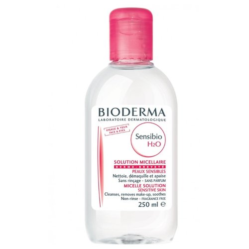 цена на Bioderma мицеллярная вода для снятия макияжа Sensibio H2O Micelle Solution, 250 мл