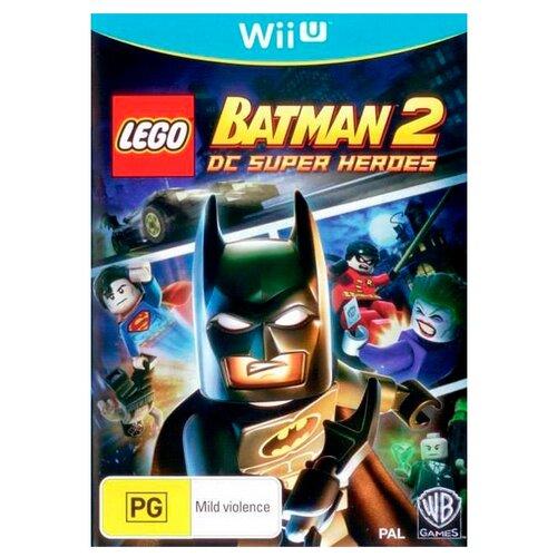 Фото - Игра для Wii U LEGO Batman 2 DC Super Heroes, русские субтитры super u