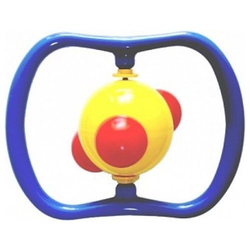 Купить Погремушка Аэлита Молекула синий/желтый/красный, Погремушки и прорезыватели