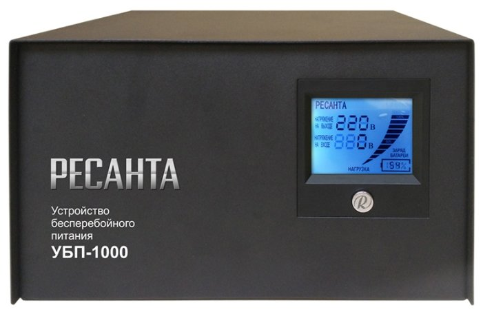 Интерактивный ИБП РЕСАНТА УБП-1000