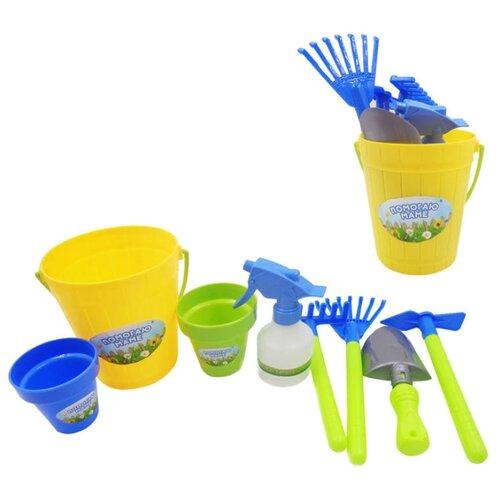 Набор ABtoys Помогаю маме PT-00603 желтый помогаю маме набор посуды для чаепития 14 предметов