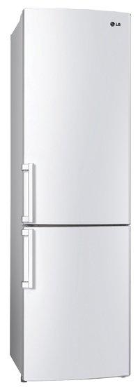 Холодильник LG GA-B489ZVCL белый