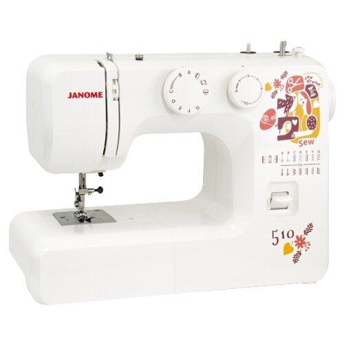 Швейная машина Janome Sew Dream 510, белый
