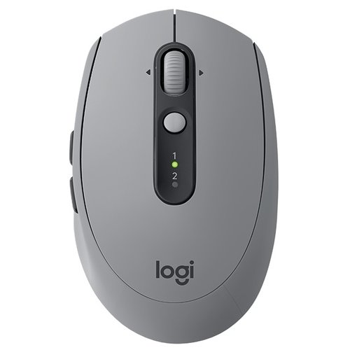 Мышь Logitech M590 Multi-Device Silent Grey USB mouse logitech wireless mouse m590 multi device silent graphite tonal