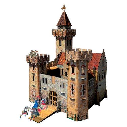 Сборная модель Умная Бумага Рыцарский замок (207) великие тайны истории рыцарский замок