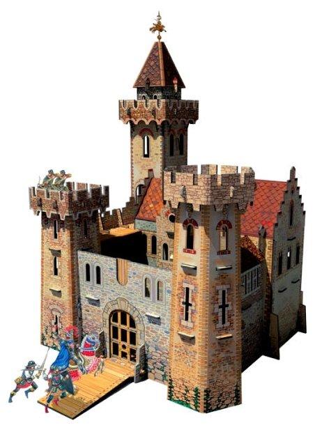 Сборная модель Умная Бумага Рыцарский замок (207),,