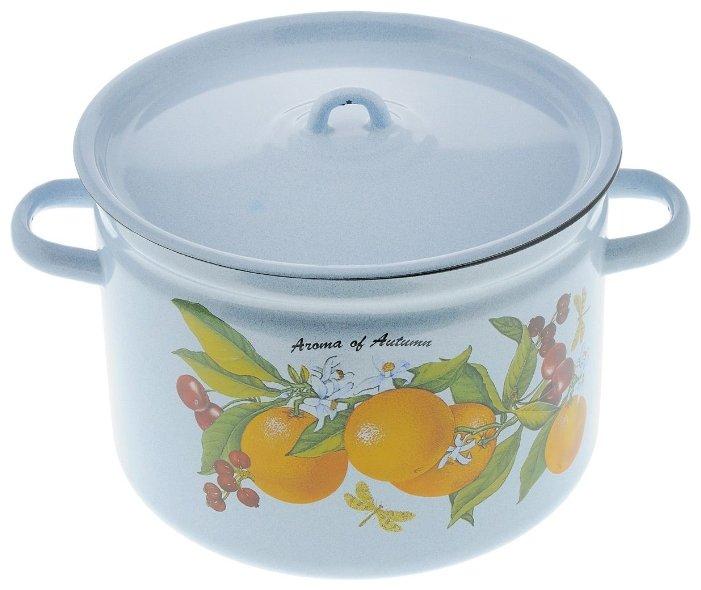 Кастрюля Лысьвенский завод эмалированной посуды С-1620/4Рб 7 л