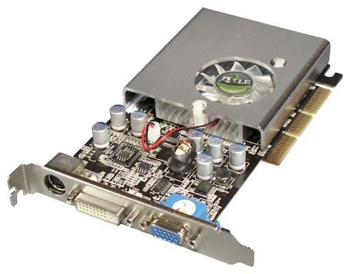 Axle GeForce 6200 350Mhz AGP 128Mb 550Mhz 128 bit DVI TV YPrPb
