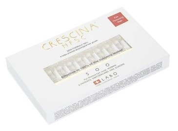 Crescina Ампулы для стимуляции роста волос для женщин, дозировка 500: существенное поредение волос