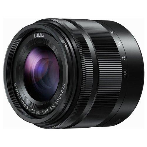 Фото - Объектив Panasonic 35-100mm f/4.0-5.6 G Vario Asph./Mega O.I.S. (H-FS35100) черный объектив panasonic 12 35mm f 2 8 ii asph o i s lumix g x vario h hsa12035