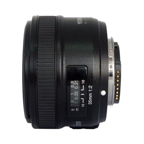цена на Объектив YongNuo AF 35mm f/2 Nikon F