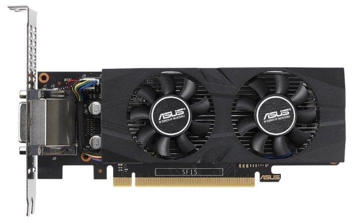 ASUS Видеокарта ASUS GeForce GTX 1050 Ti 1303MHz PCI-E 3.0 4096MB 7008MHz 128 bit DVI HDMI HDCP OC Low Profile