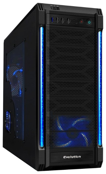 GameMax Компьютерный корпус GameMax S8825 Evalution Black/blue