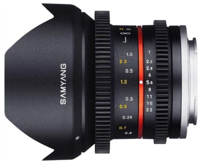 Samyang 12mm T2.2 NCS CS VDSLR Micro 4/3