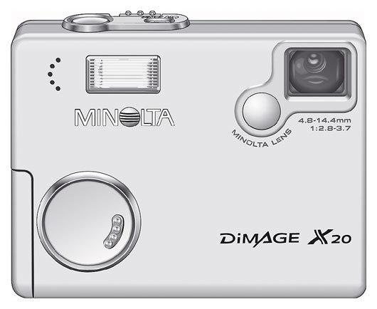 Фотоаппарат Minolta DiMAGE X20