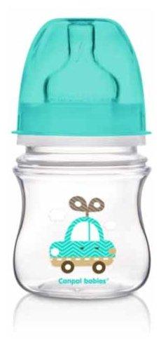 Canpol Babies Бутылочка антиколиковая с широким горлом 120 мл Игрушки с рождения