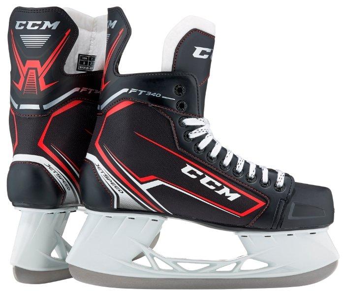 Коньки хоккейные CCM Jetspeed FT340 JR (33)