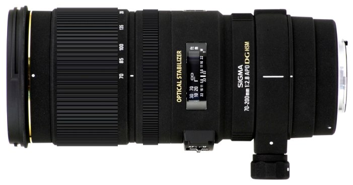 Объектив Sigma AF 70-200mm f/2.8 APO EX DG OS HSM Nikon F
