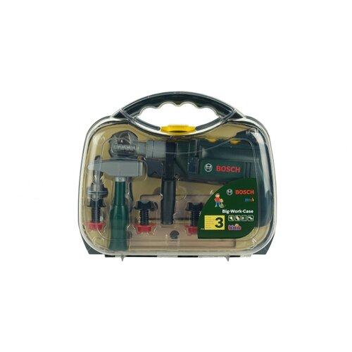 Klein Набор инструментов с дрелью в прозрачном кейсе 8416 набор инструментов stinger 20 инструментов в пластиковом кейсе 160х40x90 мм