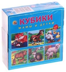 Кубики-пазлы Рыжий кот Мамы и детки К09-9610