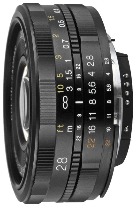 Объектив Voigtlaender 28mm f/2.8 SLII Color Skopar Canon EF-S