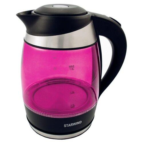 Чайник STARWIND SKG2214, розовый