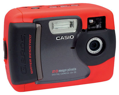 Фотоаппарат CASIO GV-20