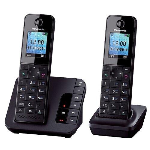 Радиотелефон Panasonic KX-TGH222 черный