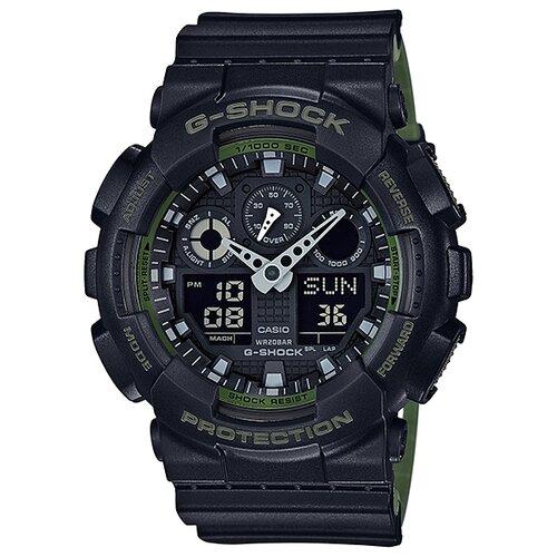 Наручные часы CASIO G-Shock GA-100L-1A casio часы casio ga 110pm 1a коллекция g shock