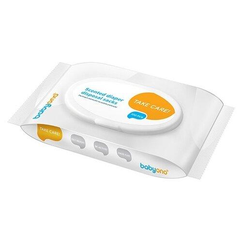 утилизаторы подгузников Пакеты для подгузников BabyOno белый