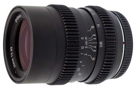 Объектив SLR Magic 25mm T0.95 Hyperprime III Micro 4/3